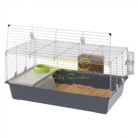 Ferplast Cage Rabbit 120 - клетка за зайци 118 / 58.5 / 51.5 cm