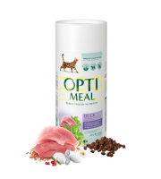 OPTI MEAL HAIRBALL DUCK/VEGETABLES-0.650гр