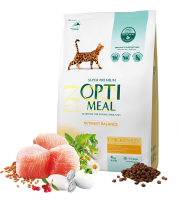 OPTI MEAL ADULT WITH CHICKEN -0.650гр
