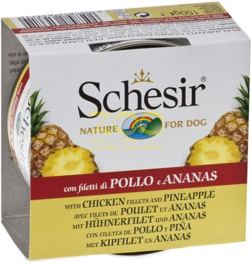 Agras Delic Schesir Nature Chicken and Pineapple - пилешки филенца с ананас 75 гр.