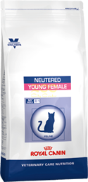 Royal Canin Neutered Young Female - женски котки от кастрация до 7 години 1.5 кг