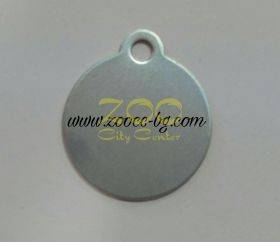 iMARC Classic Circle Shaped Tags сребрист