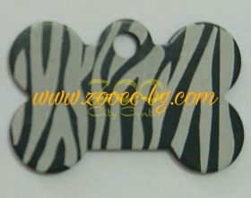 iMARC Zebra Bone Shaped Tags малък