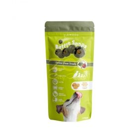 Elkwood Rattlesnaps Dental Chew Broccoli & Apple With Chicken - Дентални сфери с броколи, ябълка и пиле
