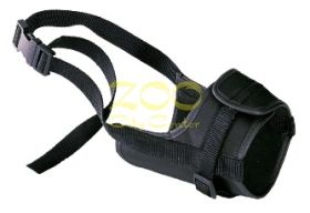 MUZZLE SAFE MEDIUM Black - намордник от плат среден  75582917