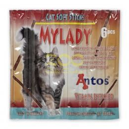 Antos Cat Soft Sticks Mylady Lamb&Turkey 6br - пръчици агне и пуйка    0505061